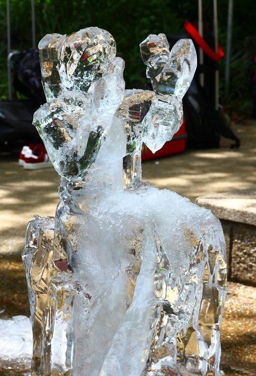 全国氷彫刻展夏季大会 40番森でのひととき
