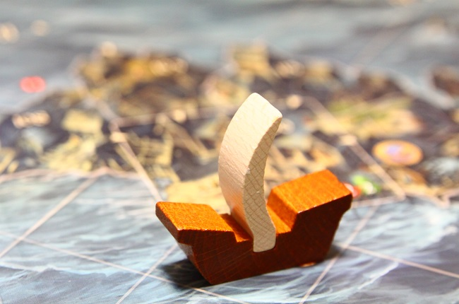 アンドールの伝説 拡張セット 船コマ