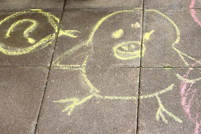 リラックマ探偵とおとぎの国の事件簿 目的地の床に書かれた絵