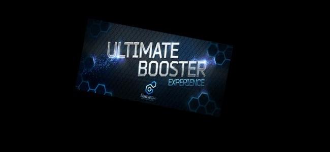 UltimateBoosterExperienceタイトルロゴ