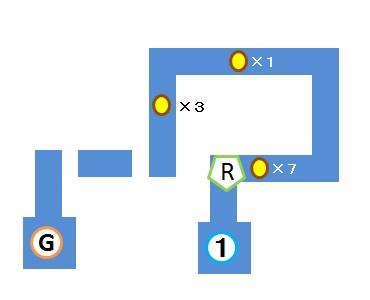Light Tracer1-1 マップ3