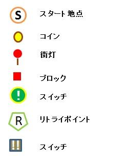 Light Tracer7-2 マップ凡例1