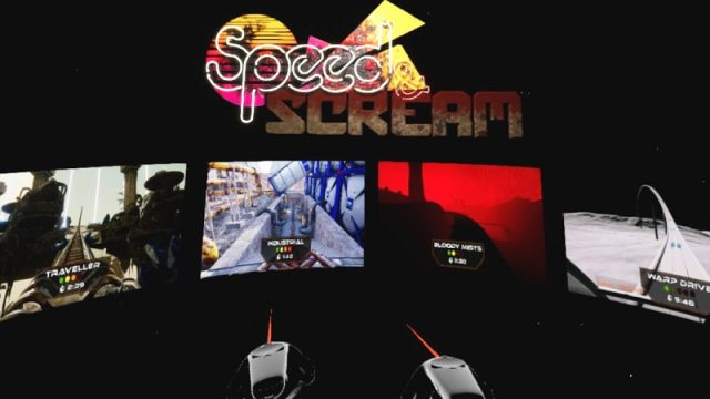 Speed and Screamメニュー画面
