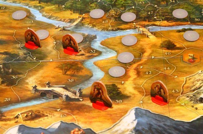 ルーン石の物語カードで出現する敵(移動前)