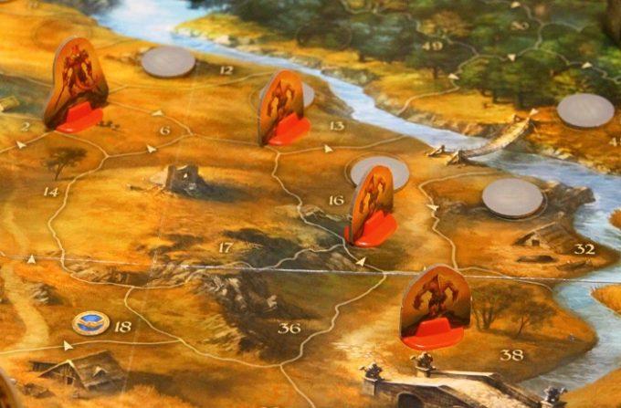 ルーン石の物語カードで出現する敵(移動後)