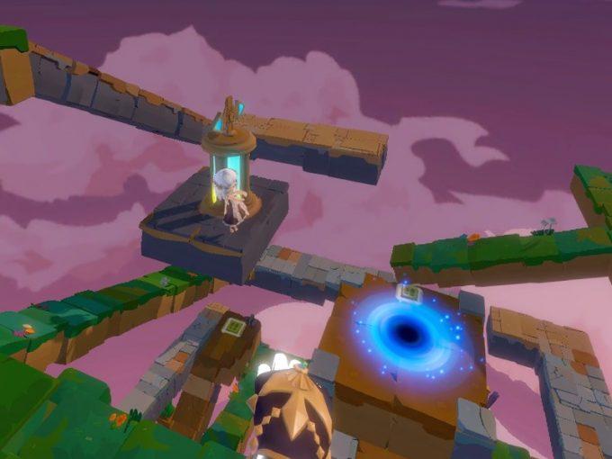 Light Tracer1-4 コインのある島へジャンプ