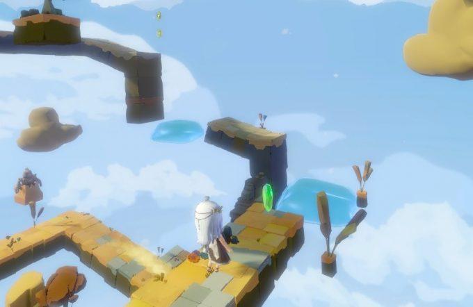 Light Tracer2-1 ジャンプ床で登る