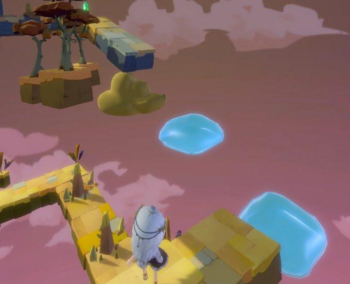 Light Tracer2-4 ジャンプ床でジャンプ