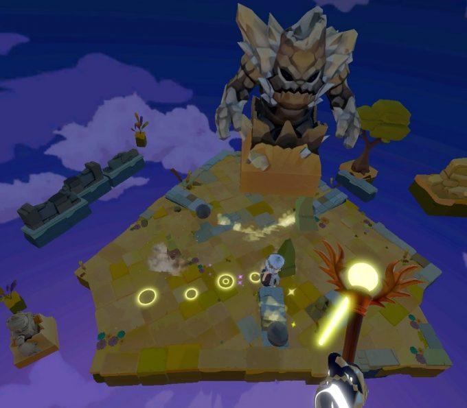 Light Tracer2-5 てこの原理で岩を飛ばして攻撃