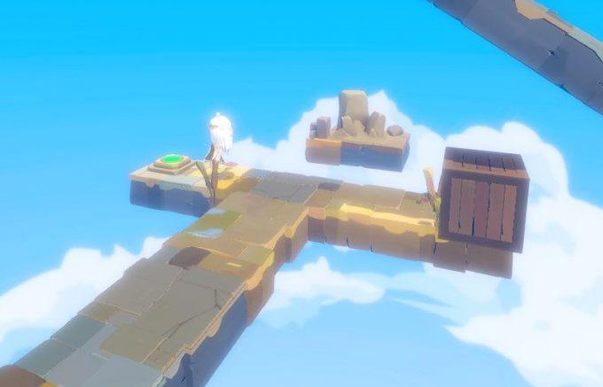 Light Tracer3-2 木箱とスイッチ