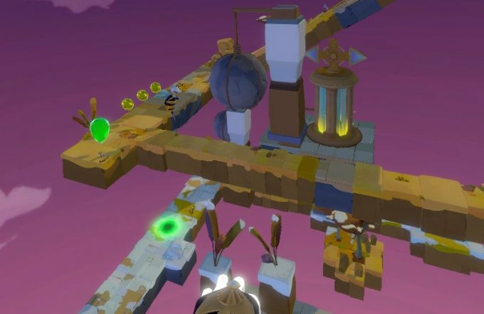 Light Tracer3-4 岩の振り子で敵を倒す