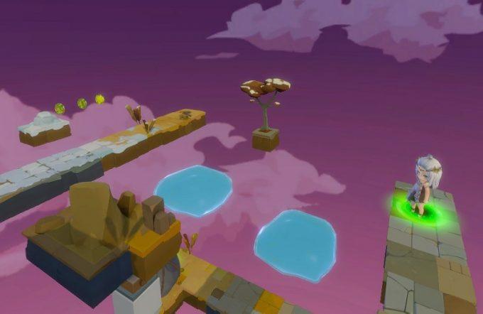 Light Tracer3-4 ジャンプ床の先