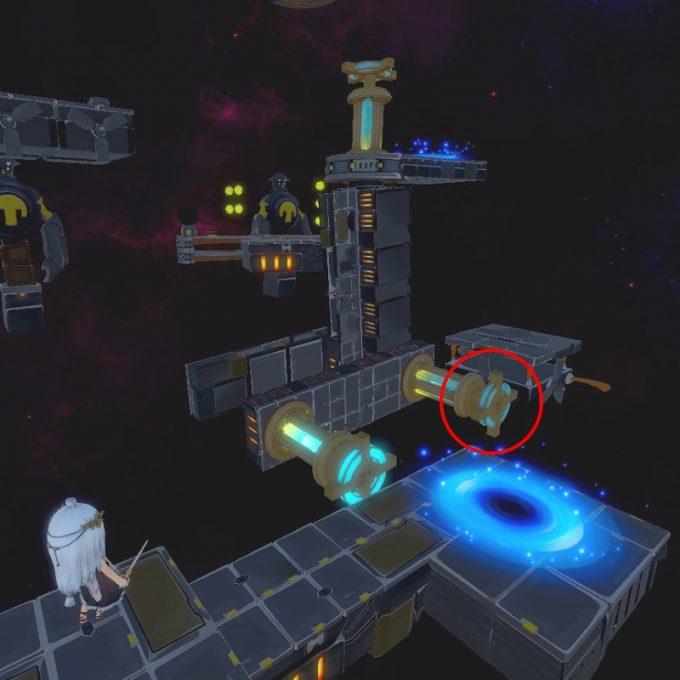Light Tracer5-1 ハンドルを操作