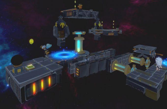 Light Tracer5-1 最初のスイッチ