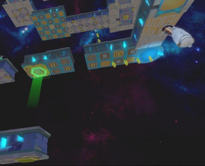 Light Tracer6-1 ジャンプして反重力装置へ