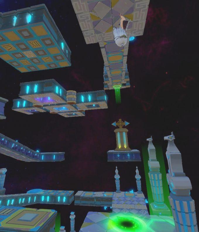Light Tracer6-1 移動床の上に着地