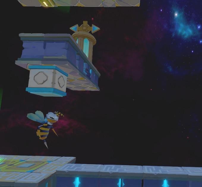 Light Tracer6-2 ブロックを落としてハチを倒す