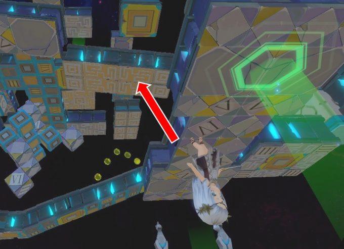 Light Tracer6-3 くぼみから移動床へジャンプ