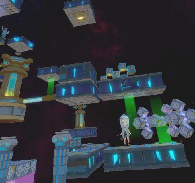 Light Tracer6-4 天井にあるスイッチをブロックで押す