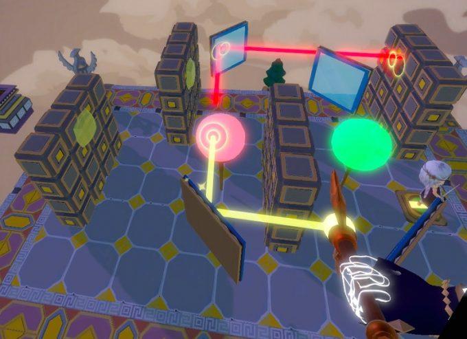 Light Tracer7-4 赤いブロックを壊す