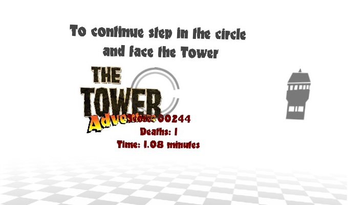 The Towerメニュー画面