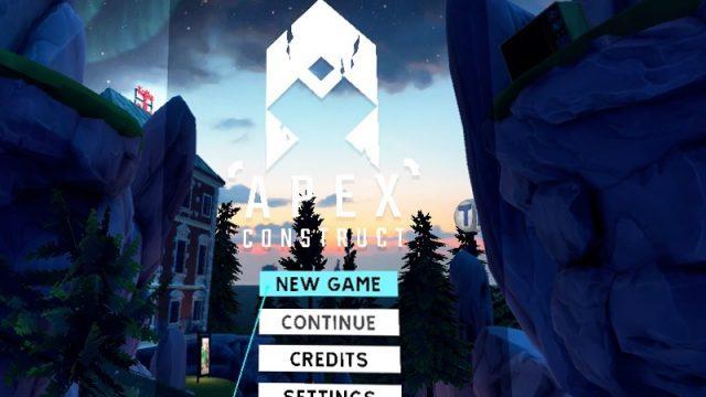 Apex Construct タイトル画面