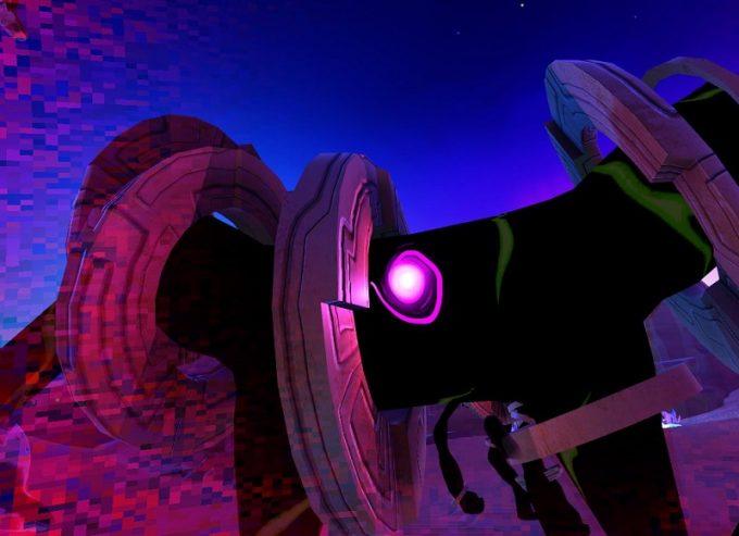 Cosmic Trip タイヤ型の敵が強い