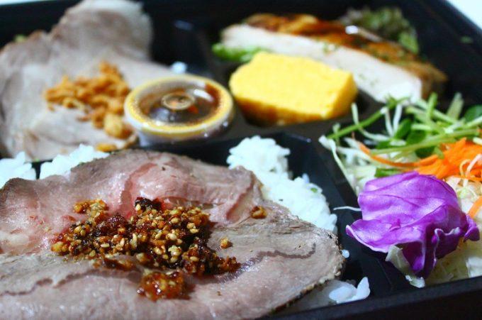 3種お肉の食べ比べ弁当(1000円)