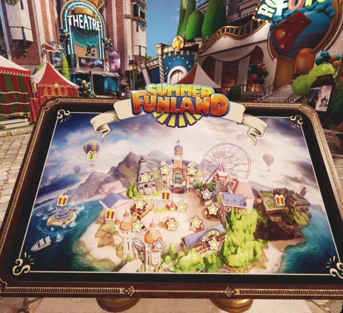 Summer Funlandマップ