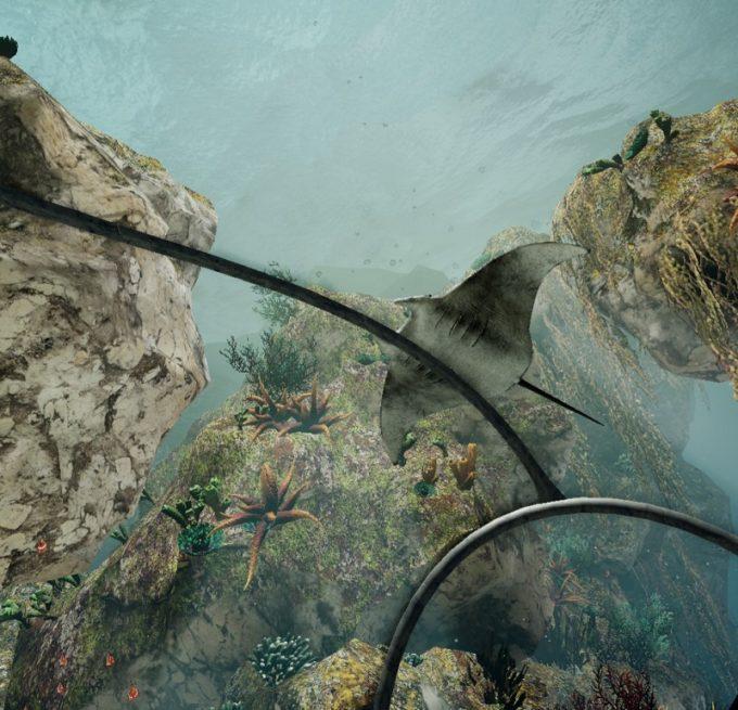 潜水艦で海底を探検するUnderwater World