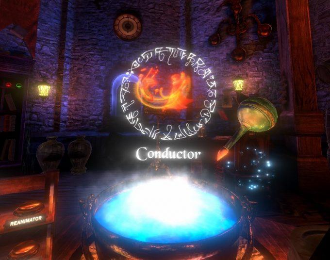 Waltz of the Wizard 特定の材料を組み合わせると、魔法が作成される