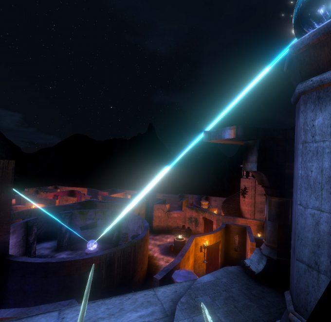 Waltz of the Wizard 塔の上にある装置を起動する