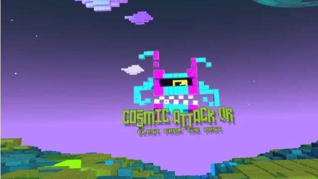 Cosmic Attack タイトル画面