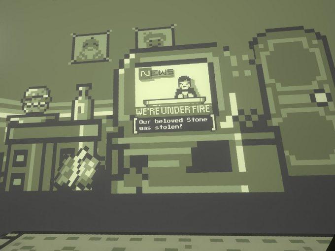 Pixel Ripped 1989 Cyblin Lordにピクセルストーンが盗まれる