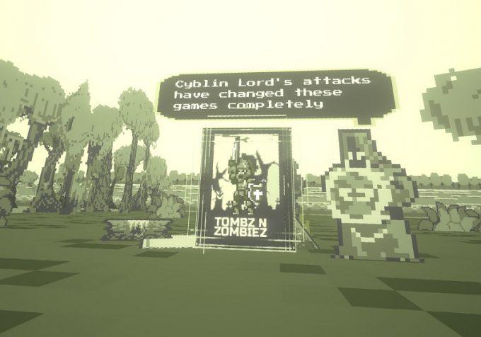 Pixel Ripped 1989 魔界村風のアクション「Tombz'n Zombies」