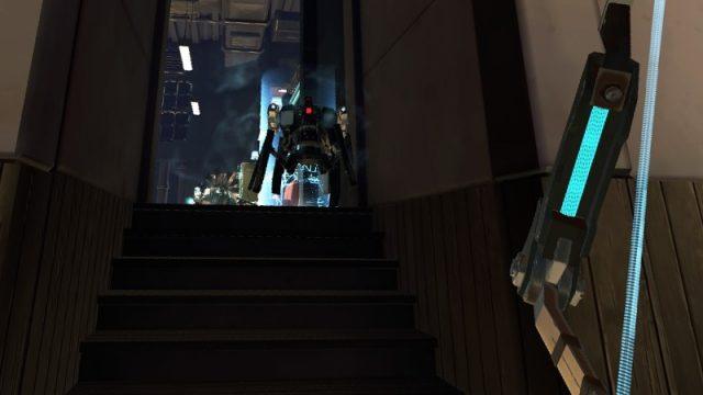 Apex Construct攻略 ミッション10 Another Toy 階段下まで引きつけて戦闘