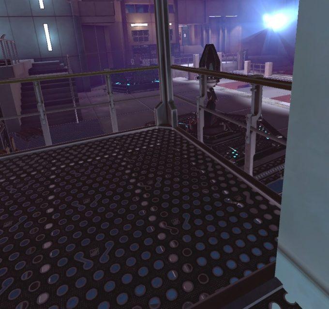 Apex Construct攻略 ミッション12 EOF 2戦目ははしごの上から戦う
