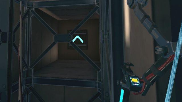 Apex Construct攻略 ミッション5 In Mothr's Domain スイッチを操作してエレベーターを動かす