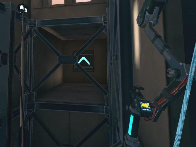 Apex Construct攻略 ミッション5In Mothr's Domain スイッチを操作してエレベーターを動かす