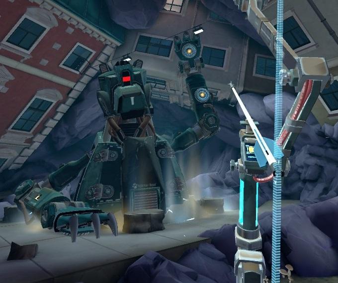 Apex Construct攻略 ミッション7 Into the Dark 降りおろし攻撃を回避しながら攻撃