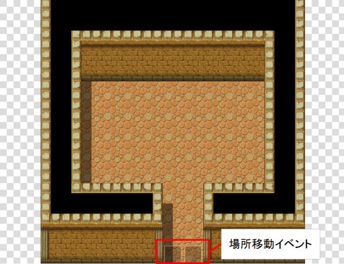 RPGツクールMVでマウスでもプレイしやすいゲームを作る方法 場所移動の罠1
