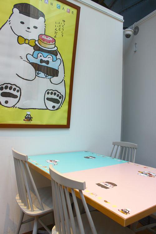 コウペンちゃんカフェ 感想レポート コウペンちゃんカフェテーブル2
