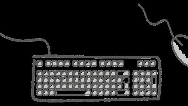 アイキャッチ マウス・キーボード