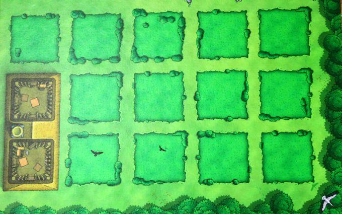 アグリコラ リバイズドエディション 農場ボード