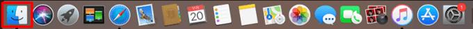 iOSアプリビルド準備4 Finderを開く