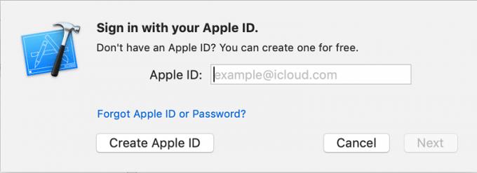 iOSアプリビルド準備11 Apple IDで認証する