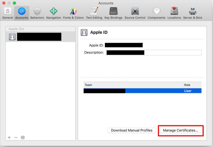 iOSアプリビルド準備12 署名の設定